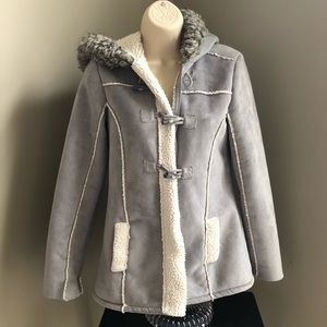 Justice Coat Girls Faux suede/fur